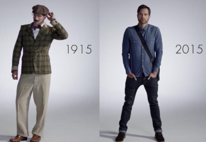 31c149b33d5a 100 let módy ve zkratce. Muži potřebují o minutu víc než ženy! – G.cz