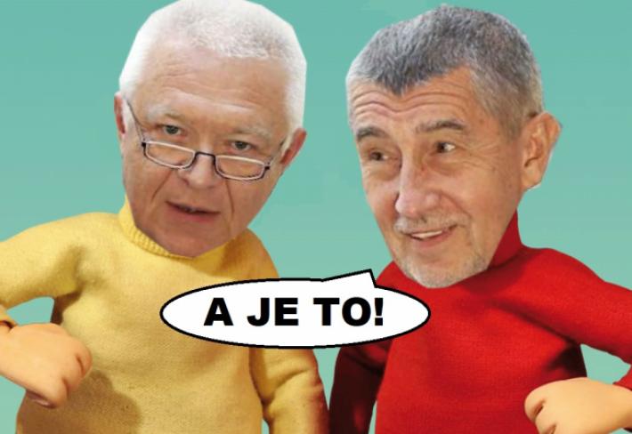 Pánové Babiš a Faltýnek mají důvod k radosti. O jejich vydání v kauze Čapí hnízdo se bude hlasovat znovu a tentokrát to zřejmě dopadne jinak než minule.