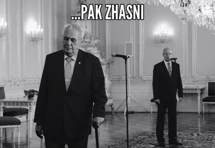 Sobotka se chová chaoticky, Babiš jako hysterka a Zeman jako nenávistný buran. Prostě politická reprezentace k pohledání.