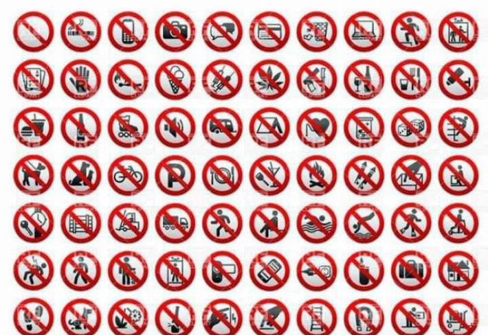 Výsledek obrázku pro zákaz
