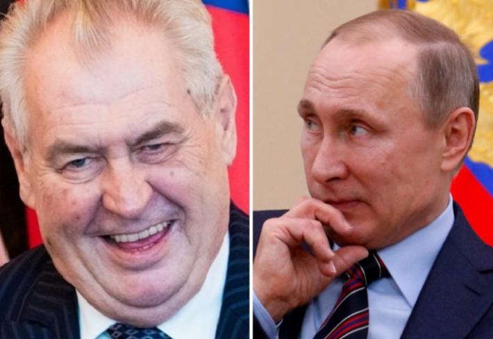 Co je horšího, než když se Zeman sejde s Putinem? Když se Zeman sejde s Putinem a chová se u toho tak idiotsky, že Putin vyjde z toho všeho jako docela sympaťák.