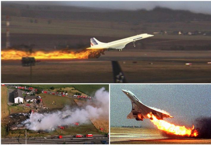 Neštěstí letounu Concorde.