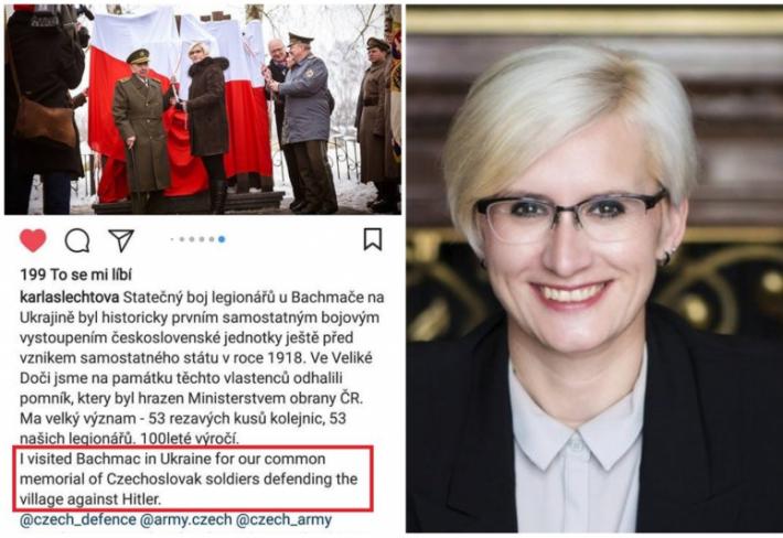 Karle Šlechtové se na Instagramu podařil pořádný přešlap, od ministryně obrany by tohle jeden fakt nečekal.