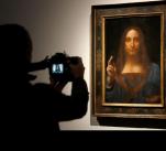 Da Vinciho Spasitel světa se vydražil za rekordních 450,3 milionů dolarů, to jest 9,8 miliardy korun.