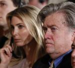 """Kontroverzní poradce Donalda Trumpa Steve Bannon byl """"odejit"""" z Bílého domu. V pozadí jeho vyhazovu by měla být prezidentova dcera Ivanka."""
