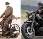 Tyhle motocykly od sebe dělí 133 let.