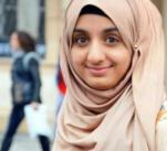Šátek na hlavě Eman Ghaleb Čechům strašně vadí