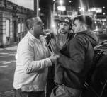 Nepoctivý pražský taxikář fyzicky napadá publicistu Janka Rubeše, kterého předtím okradl
