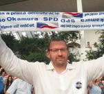 Lubomír Volný tělem i srdcem oddán SPD.
