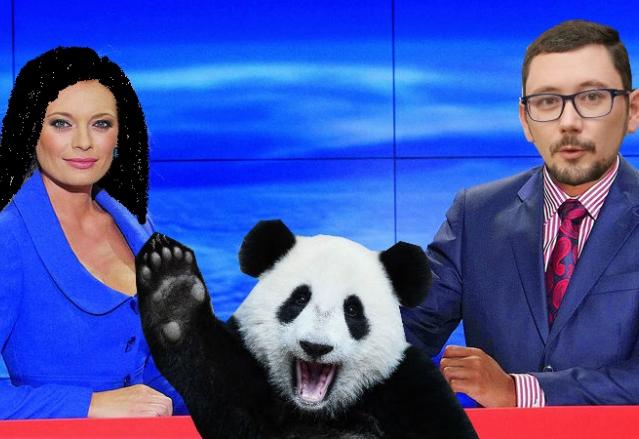 TV Nova pod čínským vedením, to znamená černovlasou Borhyovou, Ovčáčka místo Korantenga a hodně pand.