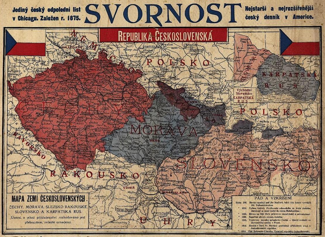 Karpatská Rus jako součást naší země.
