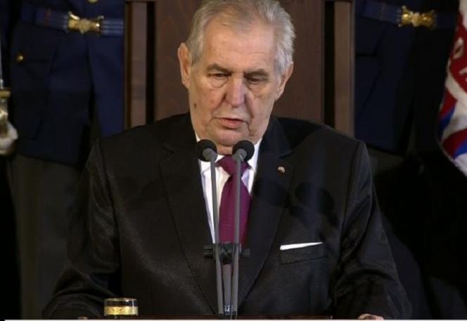Miloš Zeman řečnil na inauguraci nepříjemně dlouho, točil dokola svá klasická témata.