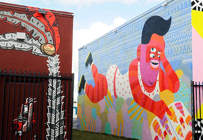 Kdysi nechvalně proslulá a zanedbaná miamská čtvrť Wynwood pozvedla díky muralům nejen svůj vzhled, ale – a to hlavně – i svou pověst