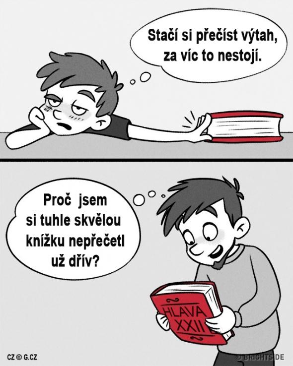1. Četba klasické literatury