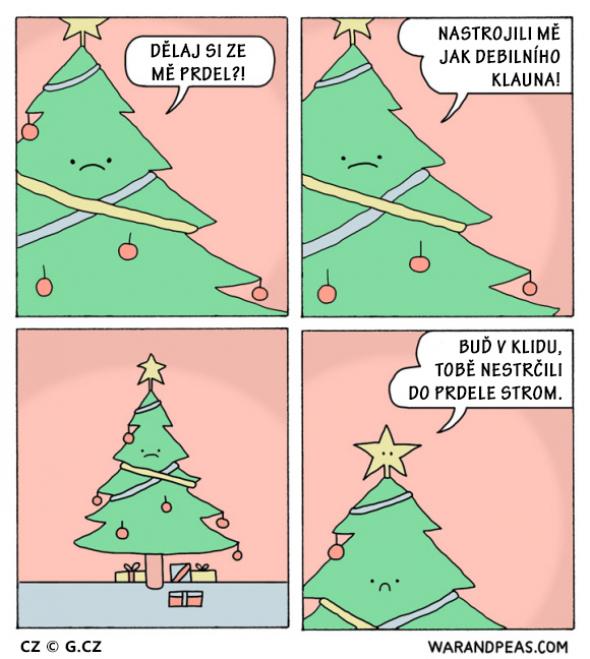 1. Vánoční šat