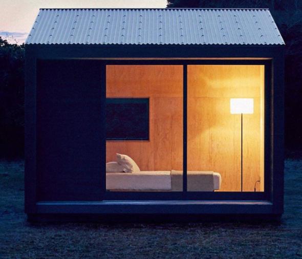 1) The Muji Hut, Japonsko