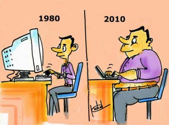 1) Počítače a my tehdy a dnes