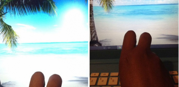 3) Dovolená na pláži