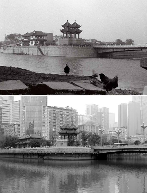 6. Čcheng-tu v roce 1994 a 2016