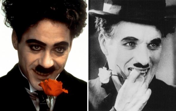 2.Robert Downey Jr. jako Charlie Chaplin  (1992)