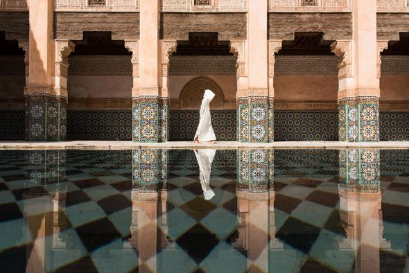 2. První cena (města): Ben Youssef, Marrákéš, Maroko