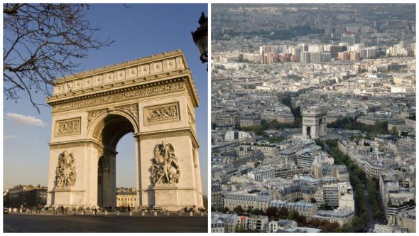 2. Vítězný oblouk - Paříž, Francie