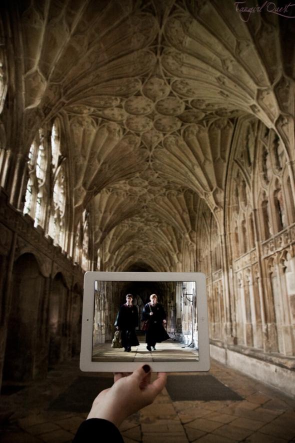 3. Harry Potter — Gloucesterská katedrála v Londýně