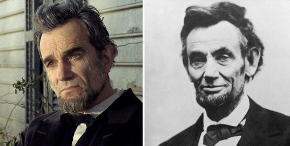 3. Daniel Day‑Lewis jako Abraham Lincoln ve filmu Lincoln (2012)