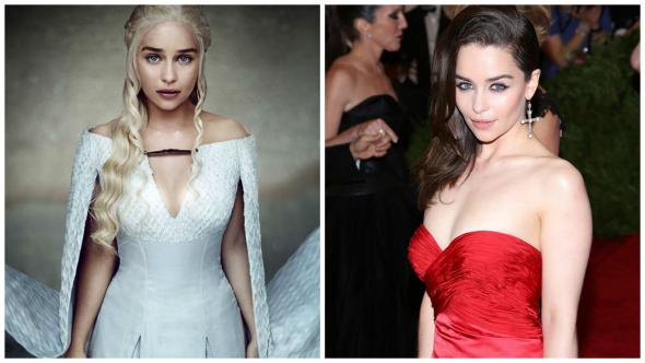 3. Daenerys Targaryen — Emilia Clarke