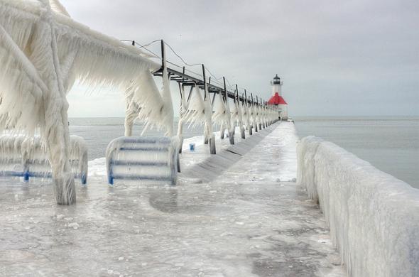 Fotografie pořídil v Michiganu.