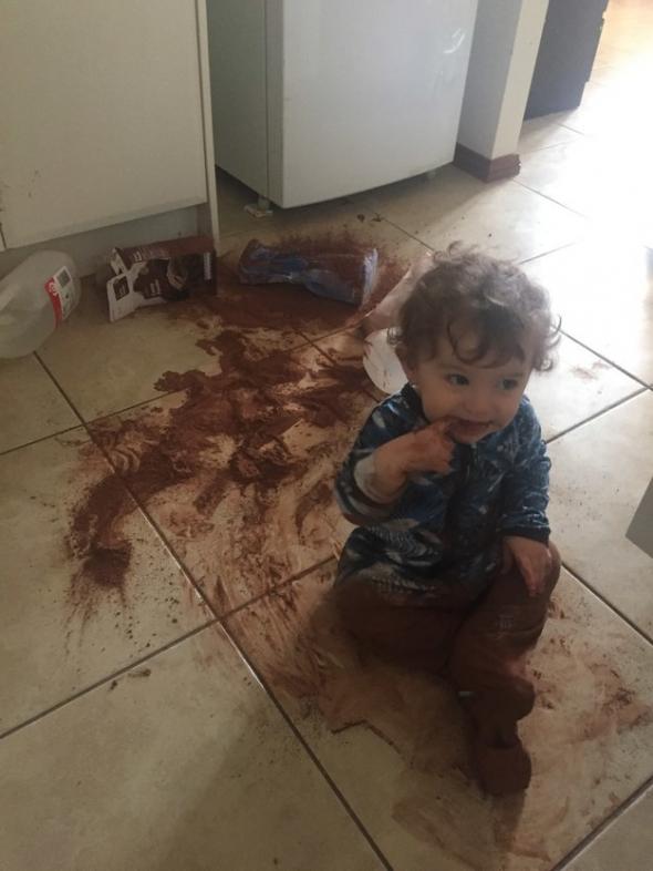 Měl jsem hroznou chuť na kakao!
