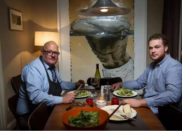 Pro většinu Američanů je čas oběda či večeře příležitost, kdy se rodina sejde pohromadě