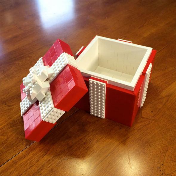 2# Krásná dárková krabička pro milovníka LEGA