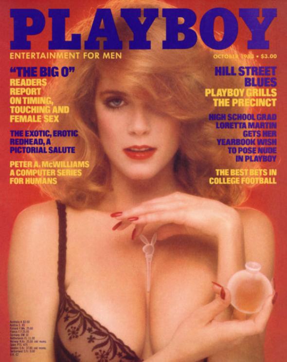 Charlotte Kemp, říjen 1983