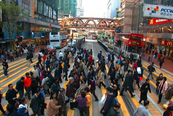 2. Causeway Bay (Hongkong) - 27 884 eur za metr čtvereční na rok