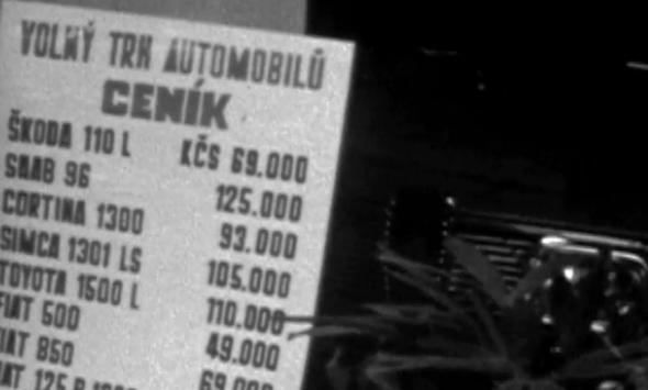 3. V roce 1958 si automobil již mohl koupit každý... Kdo na to měl.
