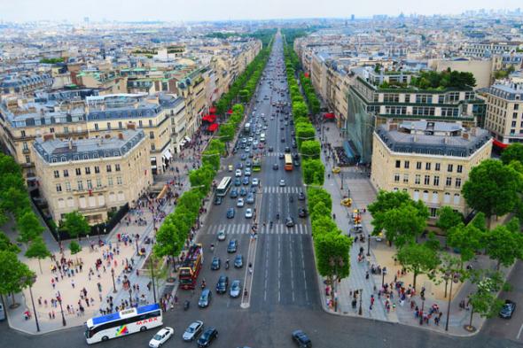 3. Avenue de Champs Élysées, Paříž (Francie) - 13 255,20 eur za metr čtvereční na rok