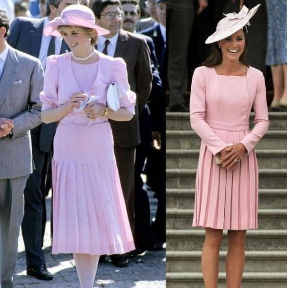 Růžový outfit