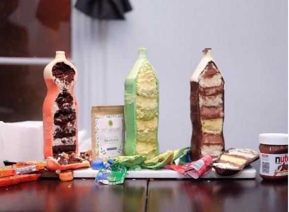 2. Chutě jednotlivých dortů dokonce korespondují se vzhledem láhví
