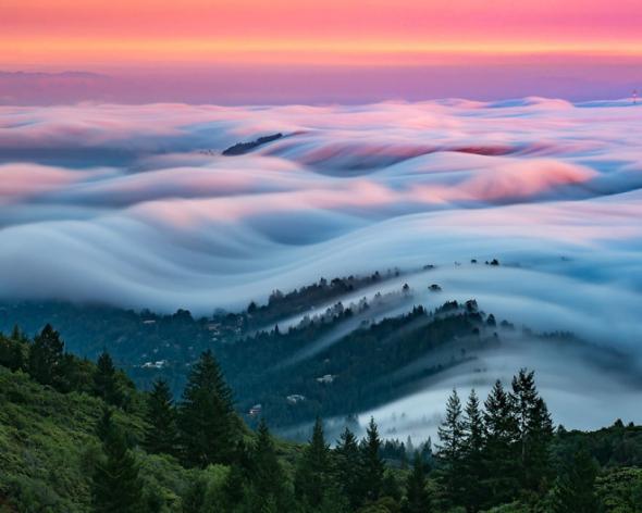 Autorem těchto dechberoucích snímků je fotograf Nick Steinberg ze San Francisca.