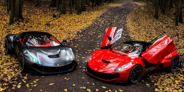 1. Ferrari – 719 vozů