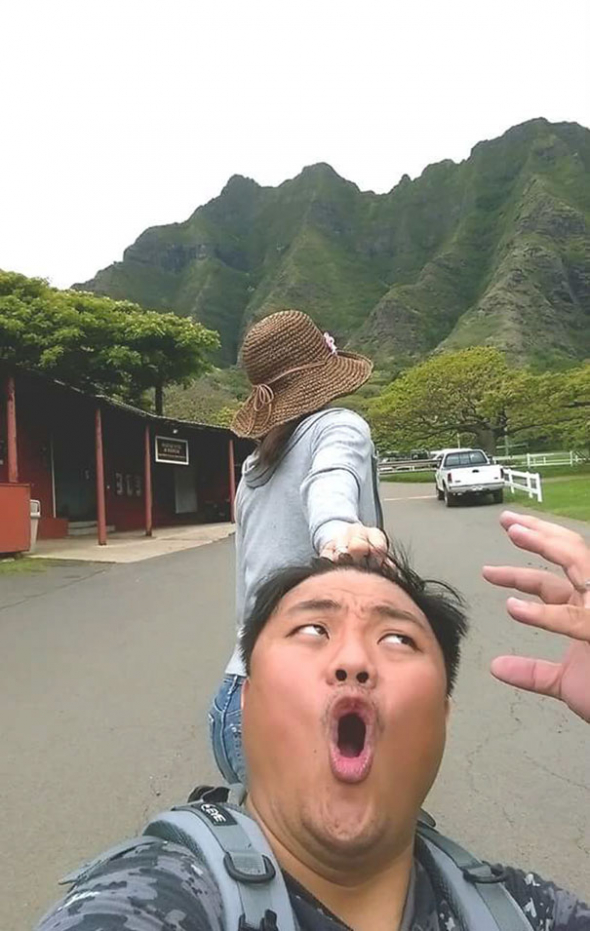 3) Když si žena vezme do hlavy, že vylezete na vysokou horu, tak tam vylezete!