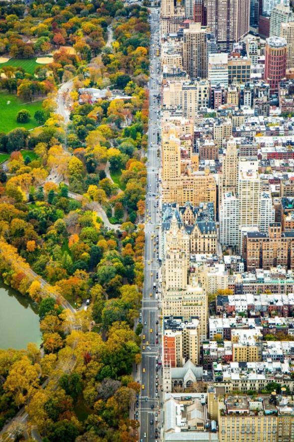 """Čestné uznání v kategorii města: """"Rozdělený"""" Manhattan, New York, USA"""