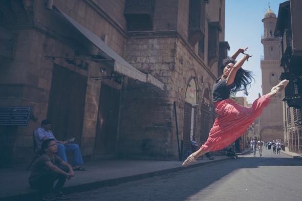 """Projekt s názvem """"Ballerinas of Cairo"""" bojuje proti znásilňování žen."""