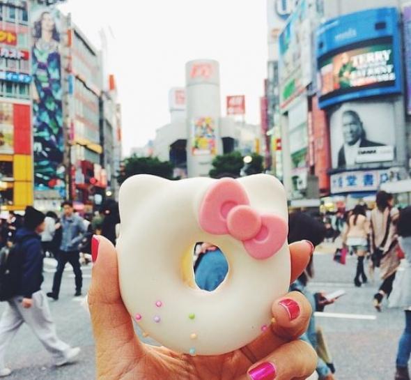 1. Hello Kitty donut, Tokio, Japonsko