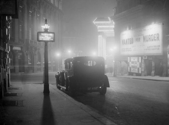4. Těžká mlha Londýn trápila i dříve...