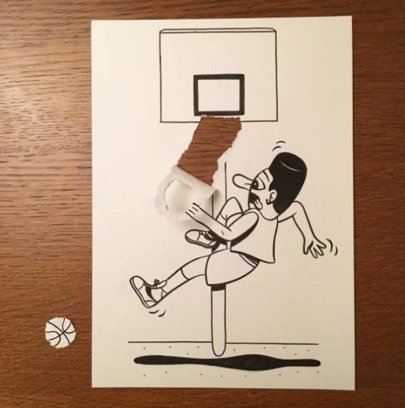 Hrac Basketbalu A Jeho Paradni Smec 19 Kreslenych Vtipu Ktere